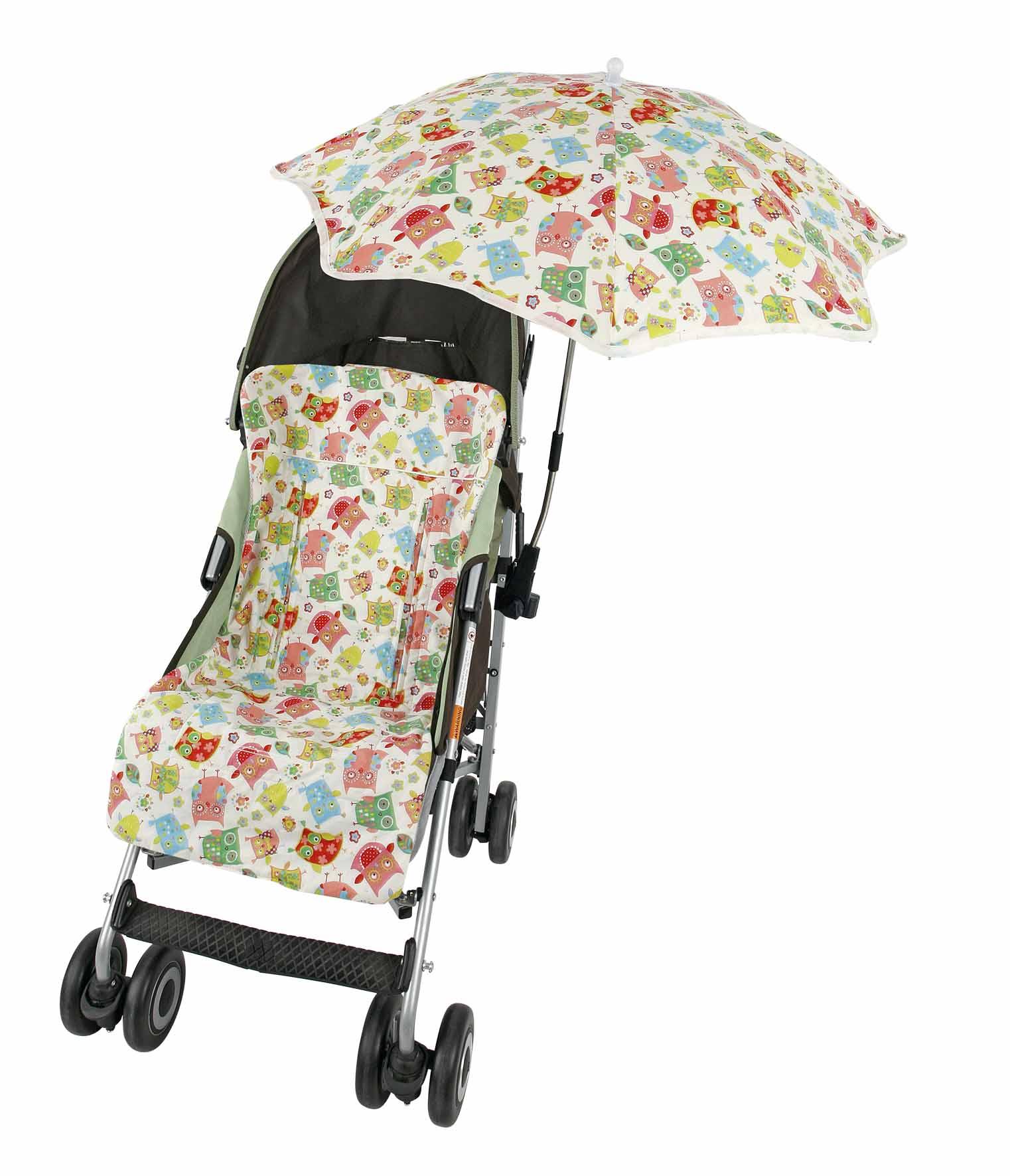 Rayas Azules Funda para silla de paseo