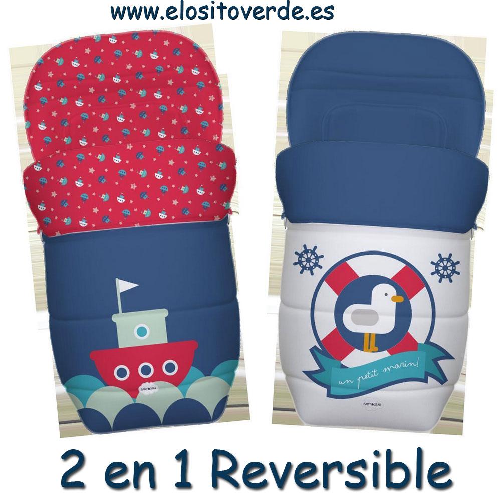 Reversibles Carros bebé para Sacos o Silla de El paseo de eCBodx