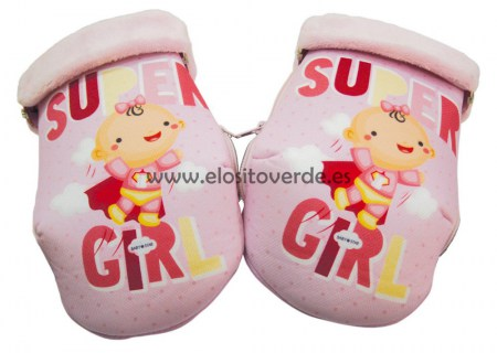 G25506 Manopla carrito super girl rosa (Copiar)