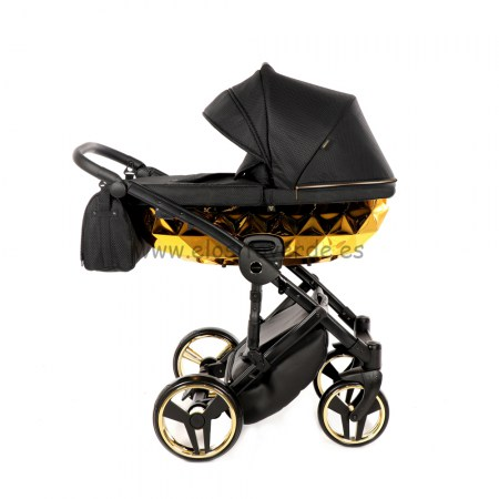 junama-diamond-mirror-negro-oro-carro-bebé (16)