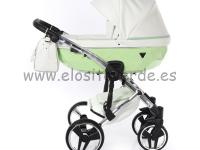 Diamond candy 2 o 3 en 1 carro de bebé verde