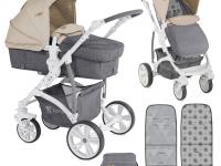 Carro bebé Vista Ligero 2 piezas Convertible Mokka 2018