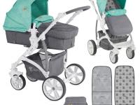Carro bebé Vista Ligero 2 piezas Convertible Verde 2018