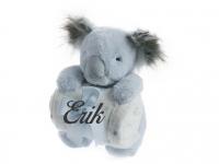 Peluche Manta Koala Azul Personalizado Nombre