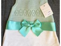 Vestido Perle  Verde Agua Bebé Rebajas