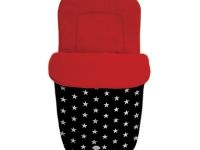 Babystar Estrellas Rojo Negro universal polar