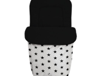 Babystar Estrellas Negro Blanco universal polar