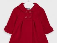 Abrigo de Paño Rojo Mayoral niña