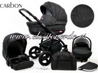 Axel Carro de bebé 3 piezas Carbon 2019