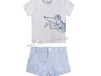 Camiseta y pantalon perro marinero niño o bebé SÚPER REBAJAS