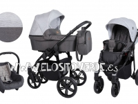 Carro bebé Verino gris grafito 3 en 1 2019
