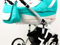 Lily Carro de bebé 3 en 1 menta