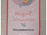 Colchoneta dibujo unicornio mágico silla de paseo 2019