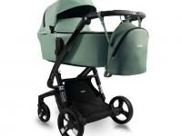 iBebe Sistema iStop Carro de bebé Eco piel Gloss IS21