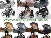 JunamaTermo brillo Glitter carro de bebé 7 colores