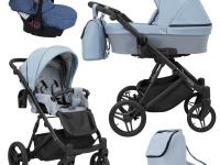Lazzio kunert cochecito de bebé 2 o 3 en 1 Azul ECO