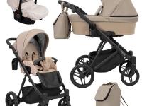 Lazzio kunert cochecito de bebé 2 o 3 en 1 Capuchino ECO