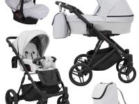 Lazzio kunert cochecito de bebé gris claro 2 o 3 en 1