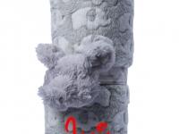 Manta Abracitos Elefante Gris Personalizada