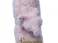 Manta Abracitos Elefante Rosa Personalizada