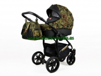 Miracle carro de bebé 3 en 1 TACTICAL MILITAR