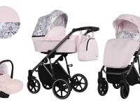 Molto Kunert Carro de bebé 3 en 1 Rosa