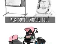 Trío súper ahorro bebé rosa