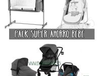 Trío súper ahorro bebé gris