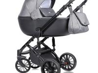 Prado cochecito de bebe 2 o 3 piezas Ecopiel Melange