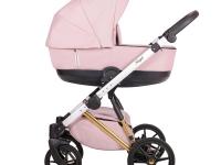 Royal Quali carro de bebé Rosa
