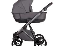 Royal Quali carro de bebé Grafito
