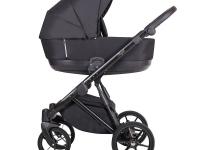 Royal Quali carro de bebé Negro