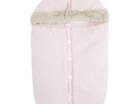 Saco capazo tricotado mayoral rosa