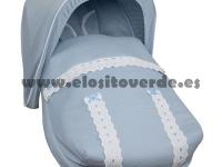 Saco classic piqué grupo 0 maxi cosi azul