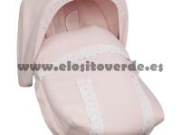 Saco classic piqué grupo 0 maxi cosi rosa