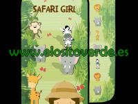 Safari niña colchoneta silla paseo verano reversible 2019