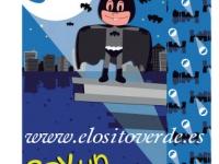 Murcielaguillo Pillo Batman Niño colchoneta silla paseo verano reversible