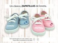 Zapatilla personalizada nombre lona