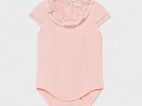 Body exterior recién nacida niña rosa mayoral