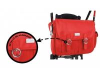 Bolso Administrador Térmico+ cambiador + portabiberón Rojo