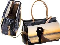 Bolso maleta viaje mujer personalizado foto