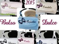 Bolso Bordado dulce Varios colores 2015