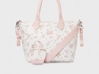 Bolso panera estampado bebé rosa Mayoral