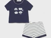 Conjunto pantalón corto camiseta recién nacido niño marinero mayoral