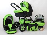 Futuro Carrito de bebé Verde 2017 3 piezas