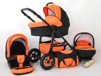 Futuro Carrito de bebé Naranja 2017 3 piezas