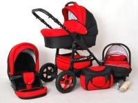 Futuro Carrito de bebé Rojo 2017 3 piezas