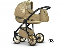 Modo exclusive mirage camel 3 en 1 carro de bebé