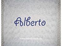 Manta Roseton Azul  ** PRECIO ESPECIAL**