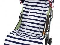 Capota Rayas azul marinero silla de paseo